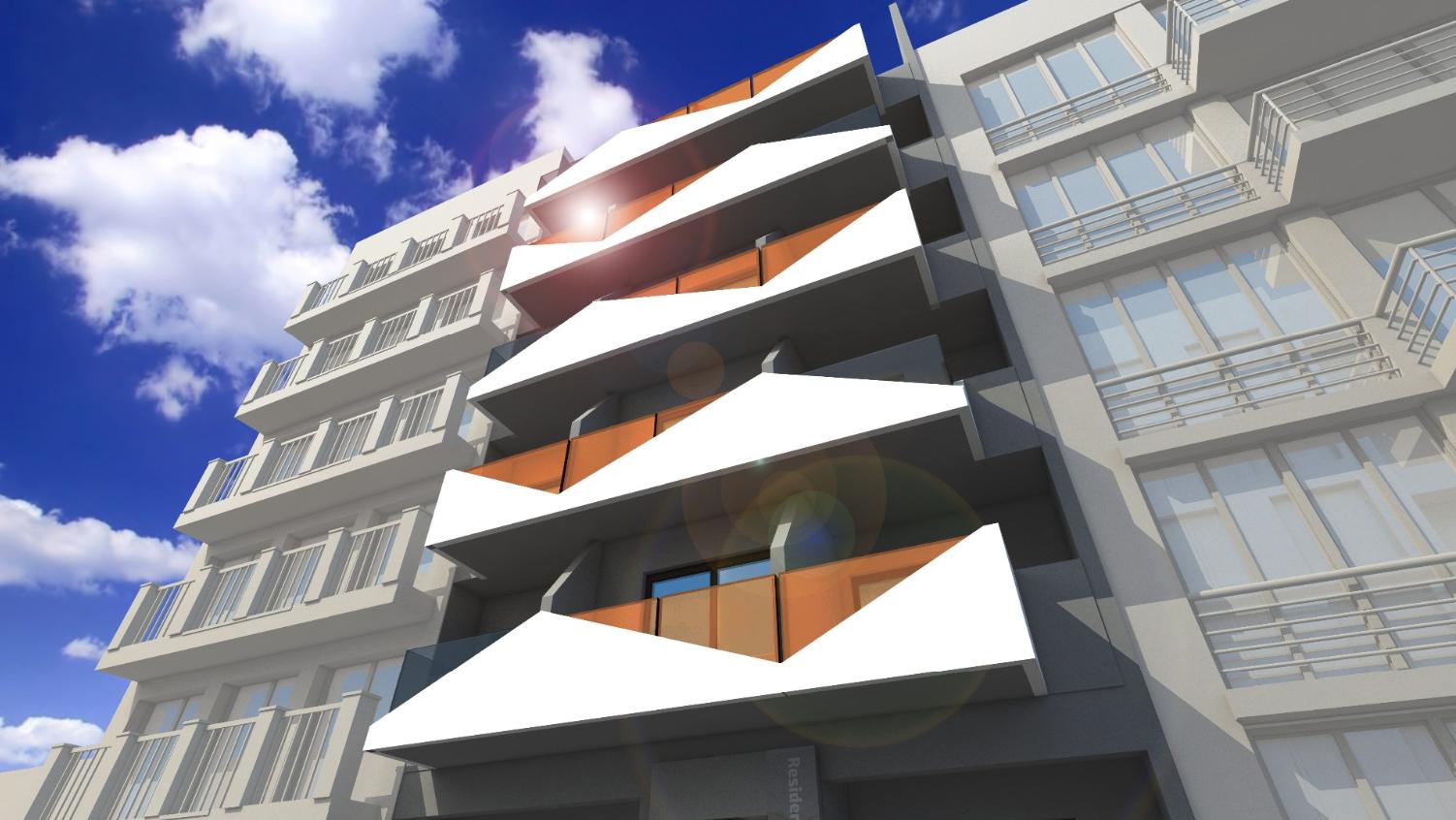 NC1399AL : Апартаменты рядом с пляжем в Торревьеха
