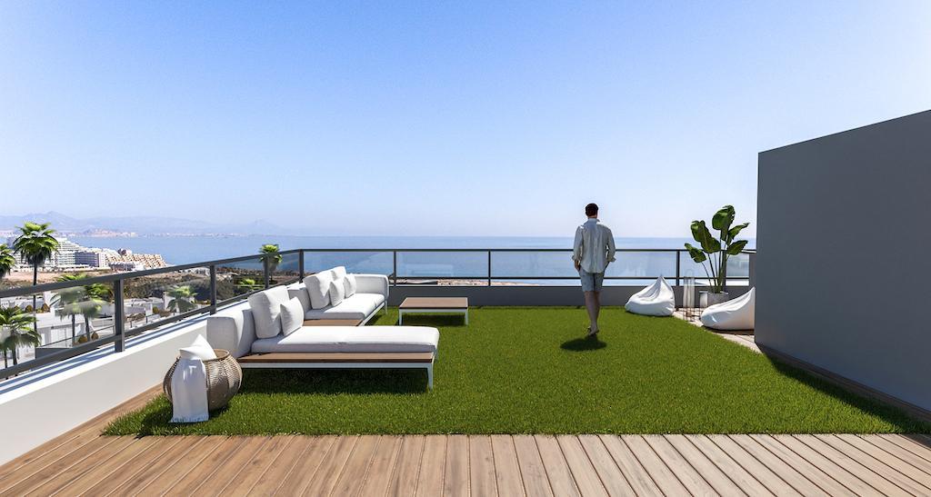 NC1286TW : Апартаменты рядом с пляжем в Ареналес-дель-Соль (Гран Алакант)
