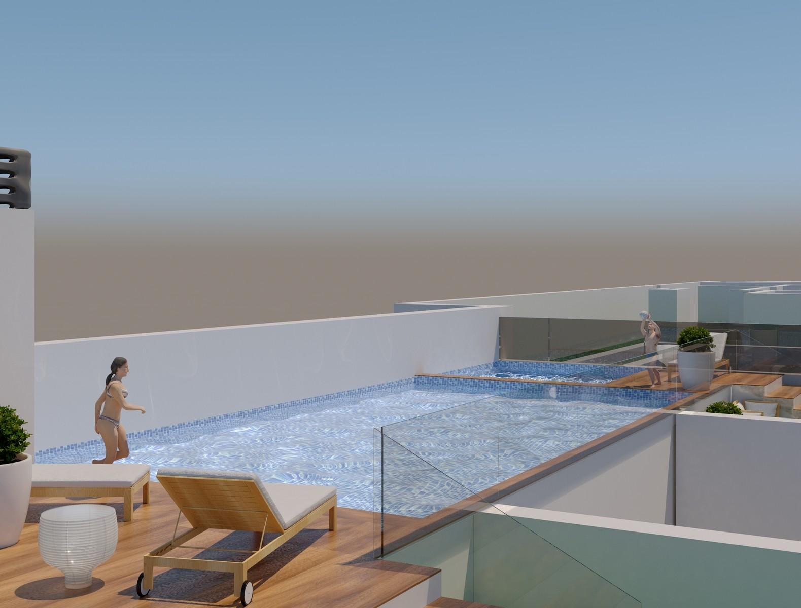 NC1270AM : Апартаменты рядом с пляжем в Торревьеха