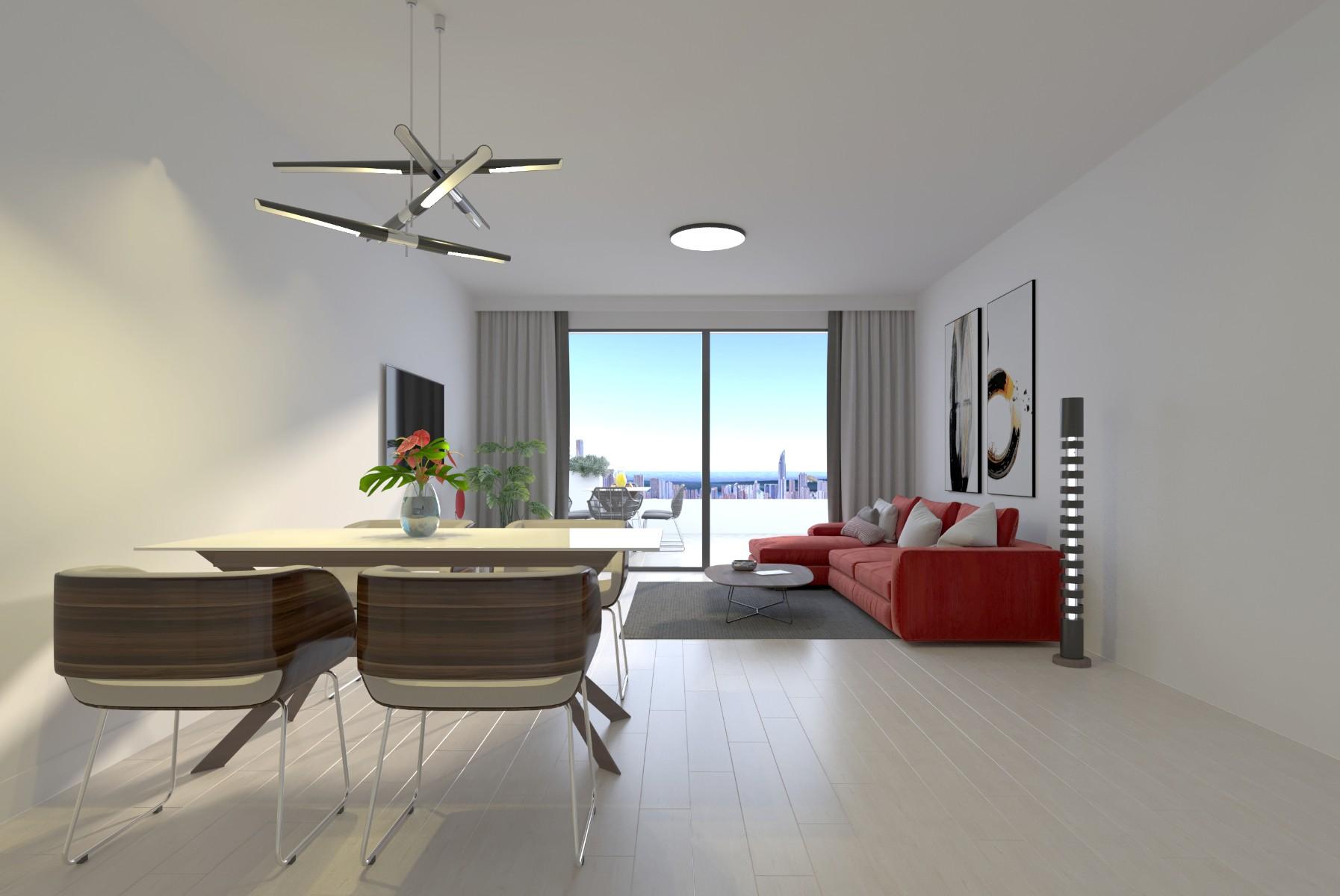 NC1390CR : Апартаменты с террасой  в Сьерра Кортине-Бенидорм